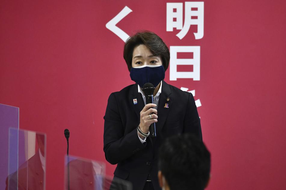 Seiko Hashimoto (56), Japans Olympia-Ministerin, gilt als Kandidatin für die Nachfolge von Mori.