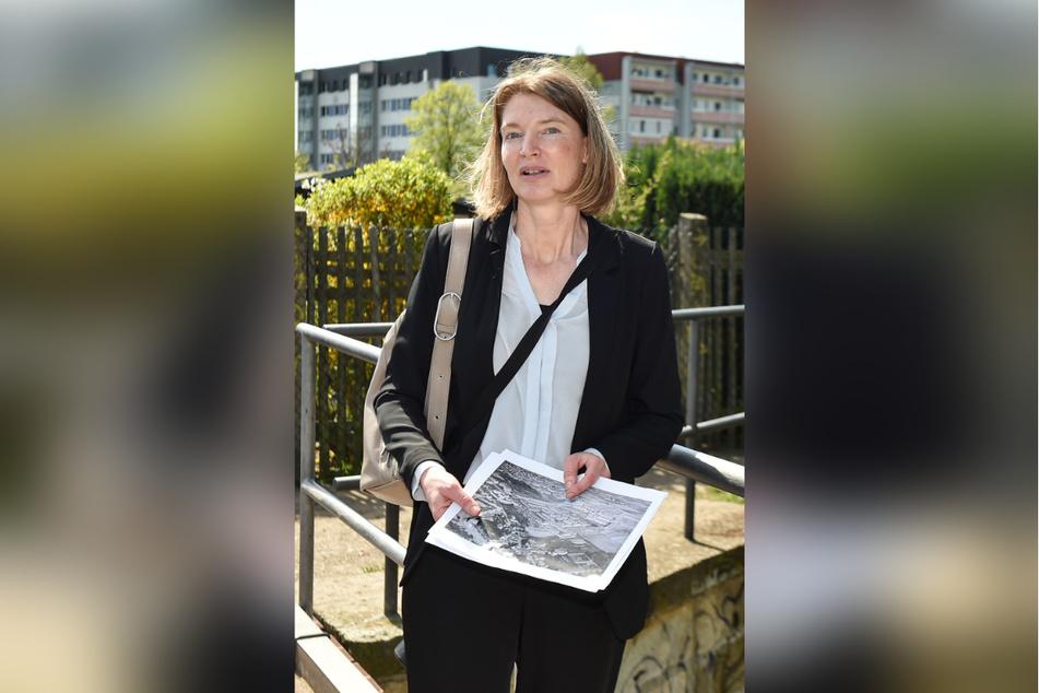 Stadtplanerin Louisa Schoeneich (44) will das neue Viertel behutsam entwicklen.