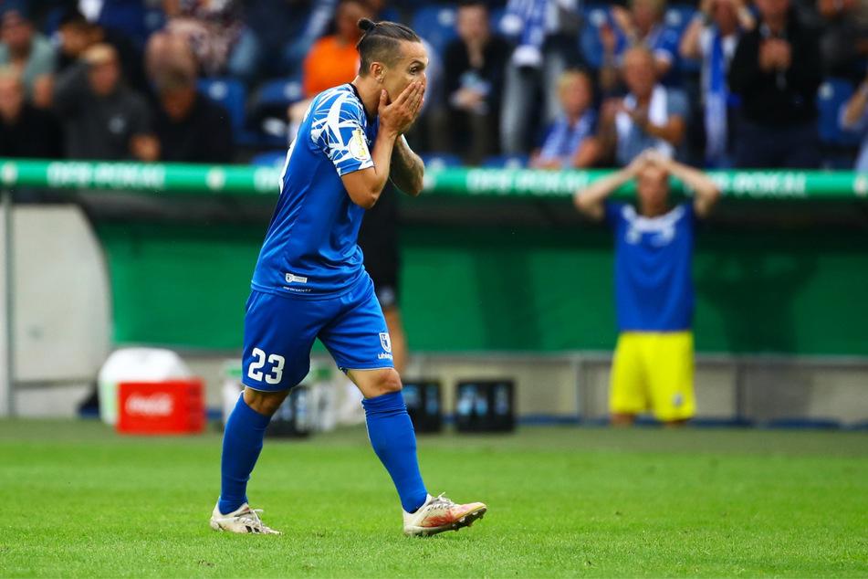 Baris Atik (26) musste mit dem 1. FC Magdeburg einen Rückschlag hinnehmen, kann aber bereits am Samstag in Wiesbaden eine Reaktion zeigen.