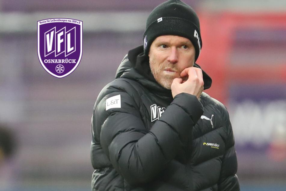 Nach sieben Niederlagen in Folge: Osnabrück haut Trainer Grote raus