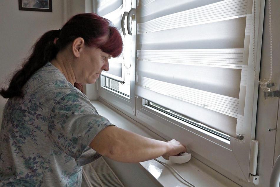 Die Wohnung ist ständig feucht, die Wände regelrecht nass.