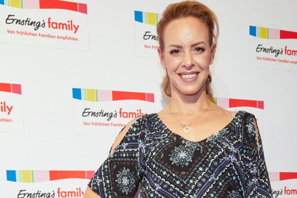Isabel Edvardsson (38) erwartet ihr zweites Kind.