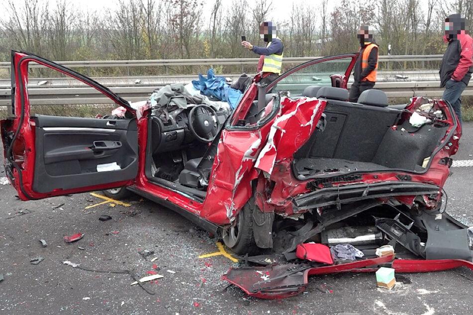 Transporter verursacht Massenkarambolage: Drei Verletzte bei Unfall auf der A2
