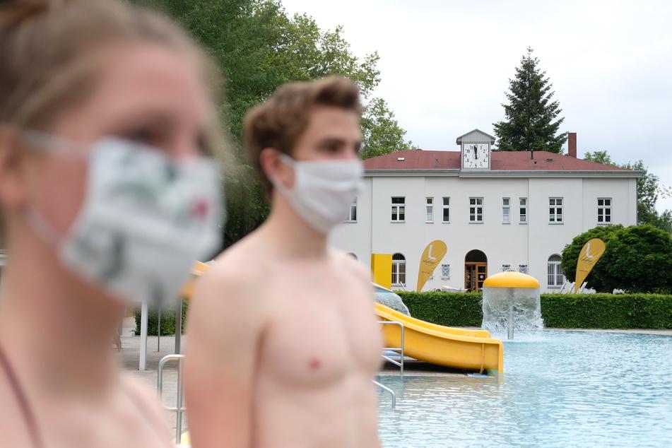 Bald darf wieder im Leipziger Schreberbad geplanscht werden - mit Abstand!