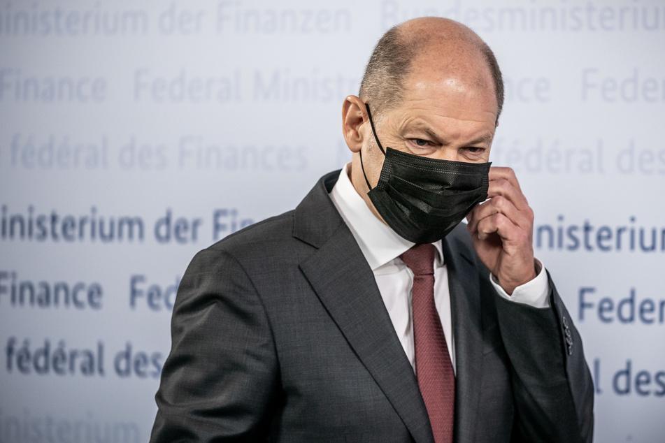 Bundesfinanzminister Olaf Scholz wirbt gemeinsam mit der Bundesregierung darum, dass die EU auch größere Corona-Hilfszahlungen zulässt.