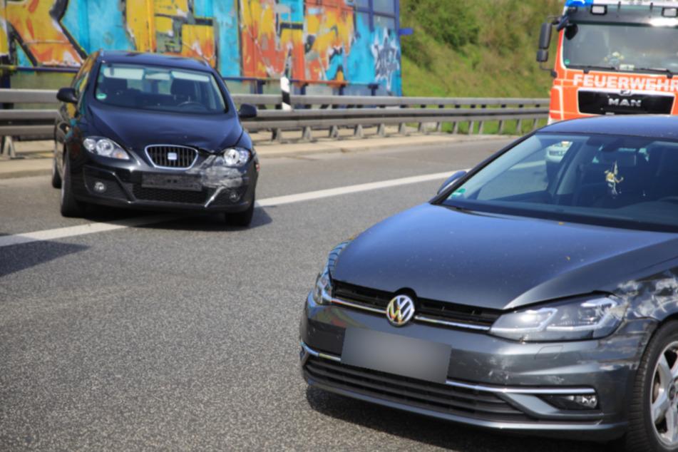 A14 bei Leipzig: Unfall mit zwei Verletzten sorgt für Stau