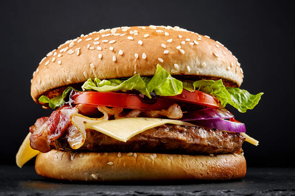 McDonald's burgers might not feature the best-quality meat, but they definitely shouldn't include insects (stock image).