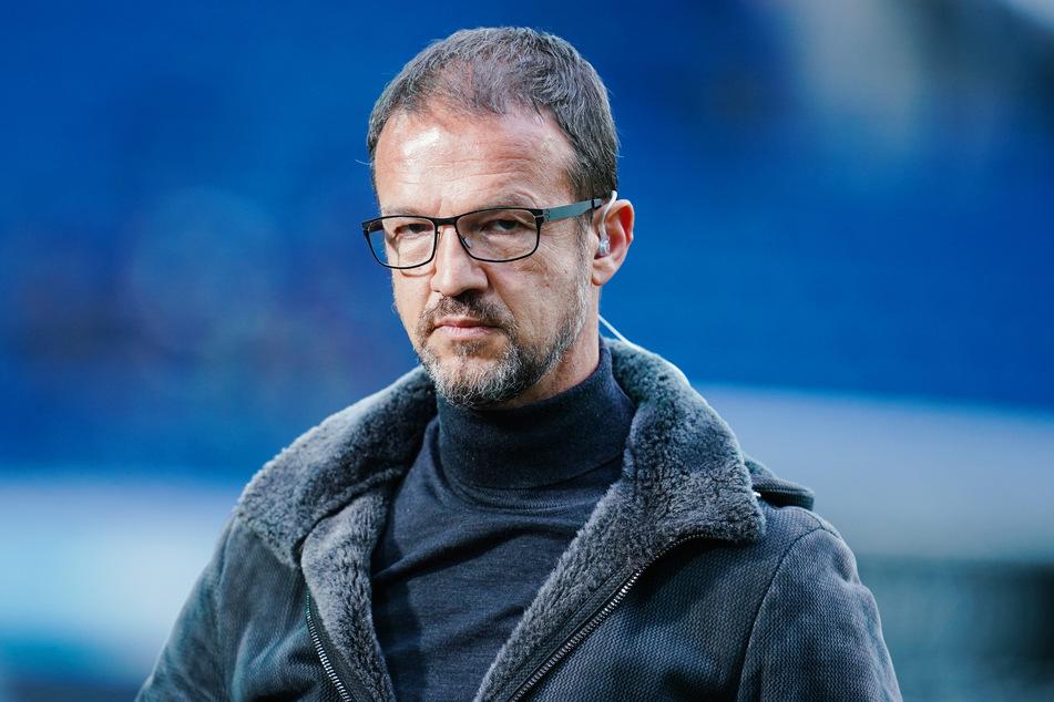 """Noch-Eintracht-Frankfurt-Sportvorstand Fredi Bobic (49) gab der """"Sportschau"""" nach dem Abpfiff ein äußerst brisantes Interview. (Archivfoto)"""
