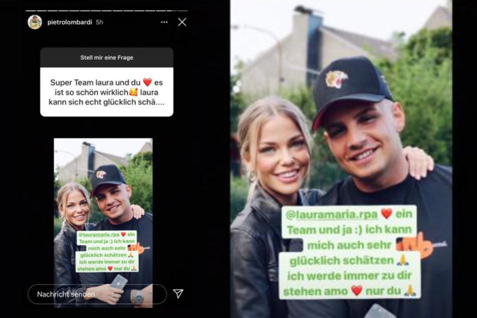 Pietro Lombardi (28) machte seiner Freundin Laura Maria Rypa (24) eine süße Liebeserklärung.