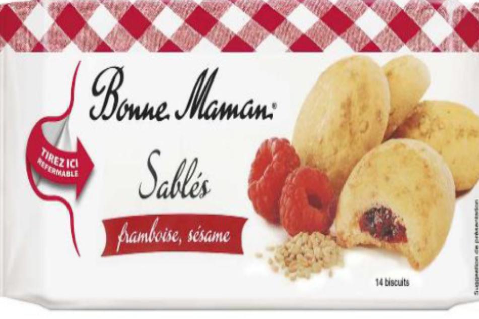 "Warnung vor ""Bonne Maman""-Himbeer-Sesamgebäck"