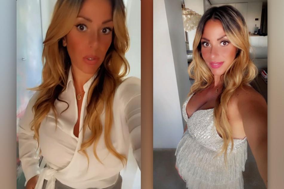 Gülcan Kamps (38) versorgt ihre Fans bei Instagram regelmäßig mit Schwangerschafts-Updates. (Fotomontage)