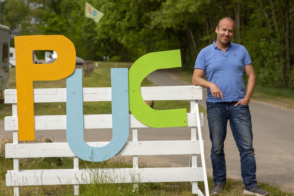 """Jobst von Paepcke, der Geschäftsführer des Hamburger Unternehmens """"Pop-Up Camps""""."""