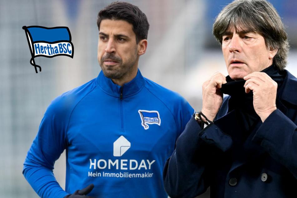 """Löw begrüßt Khedira-Wechsel zu Hertha BSC: """"Habe mich sehr gefreut"""""""