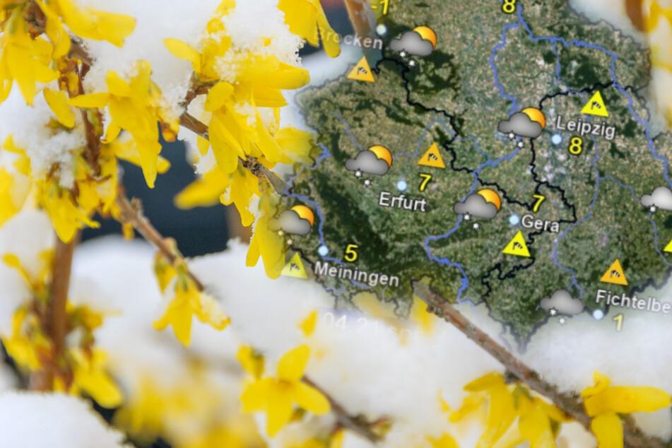 Der April macht, was er will! So ungemütlich wird das Wetter in Sachsen, Sachsen-Anhalt und Thüringen