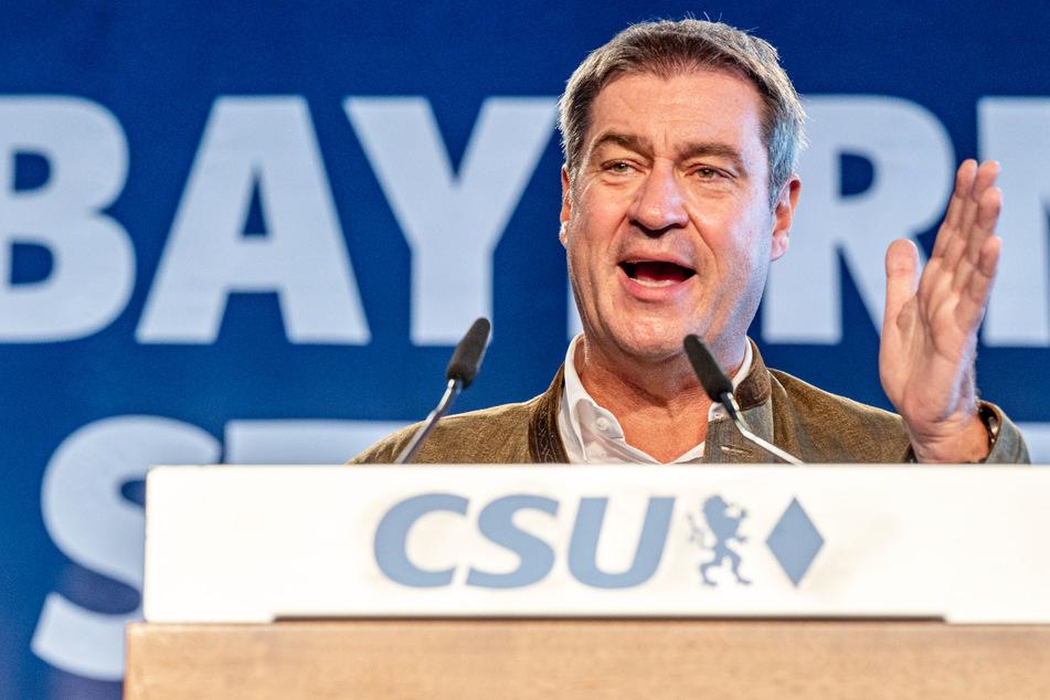 Damit dürfte Markus Söder (54, CSU) wohl kaum zufrieden sein: Seine Partei ist laut einer Umfrage unter die 30-Prozent-Marke gestürzt.