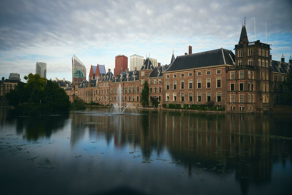 Blick auf Den Haag.