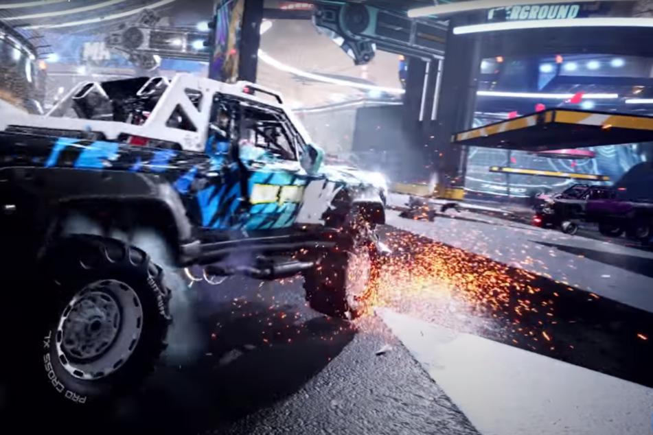 Destruction AllStars: Autos auf Abwegen.
