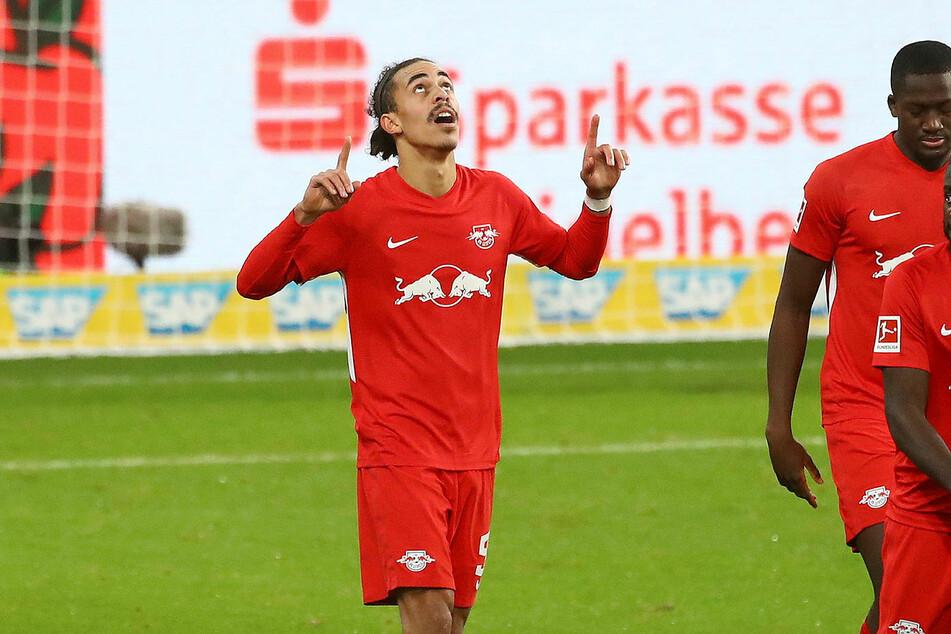 Yussuf Poulsen (26) spielt schon seit 2013 bei RB und absolvierte bislang 271 Pflichtspiele (70 Tore, 56 Vorlagen).