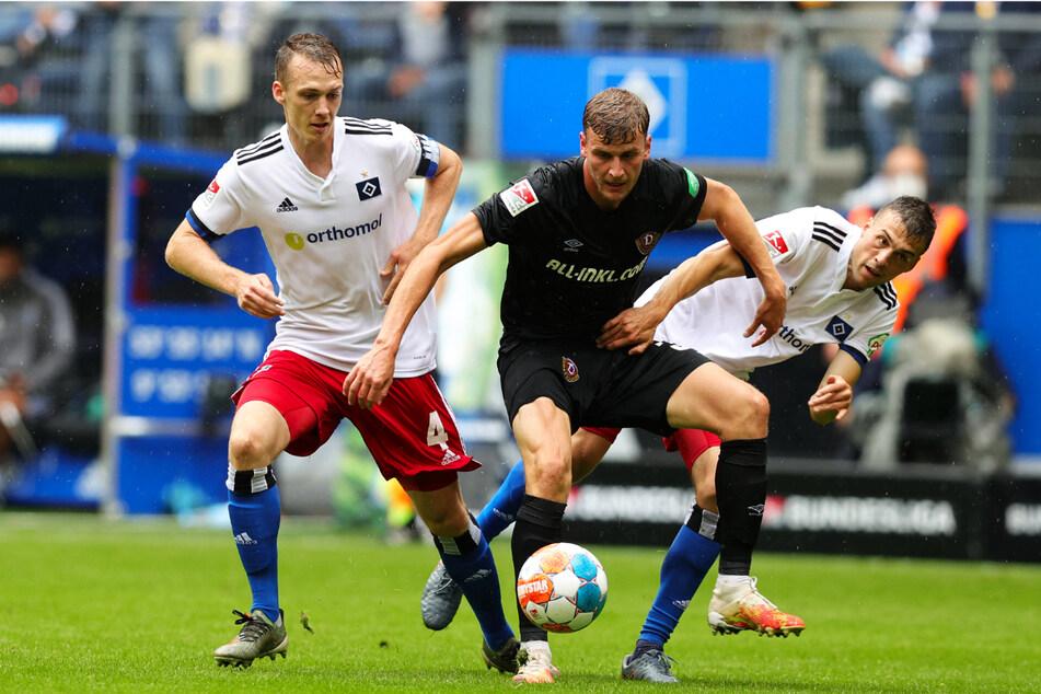 Christoph Daferner (23, M.) nahm's in Hamburg auch mit zwei Gegnern auf.