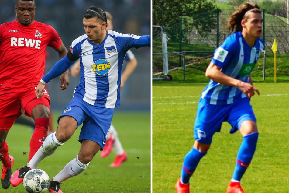 Nach Karim Rekik (l.) hat auch sein jüngerer Bruder Omar Hertha BSC verlassen. Der 19-Jährige hat sich enttäuscht über seinen bisherigen Klub gezeigt.