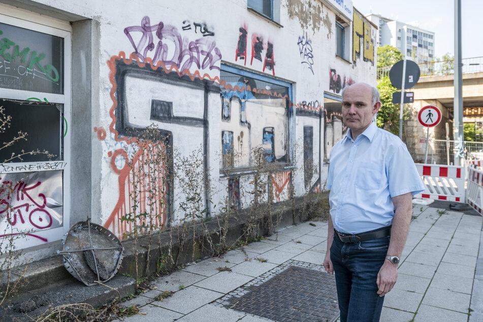 CDU-Stadtrat Kai Hähner (47) fordert die Stadt und den ASR mit Beschlussantrag zu einer Studie über Vermüllung in Chemnitz auf.