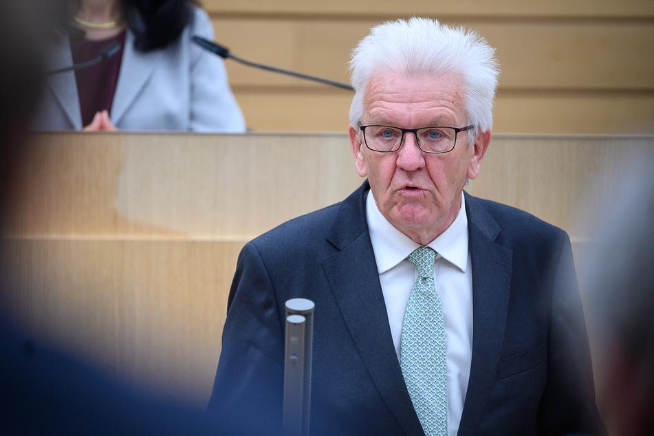 Baden-Württembergs Ministerpräsident Winfried Kretschmann (71, Grüne). (Archivbild)
