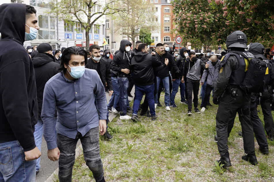 Stuttgart: Ausschreitungen bei propalästinensischen Demonstrationen in Baden-Württemberg