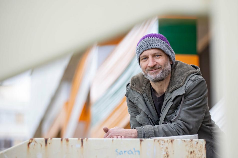 André Tempel (51) hat den Bau der Ostmoderne umwickelt.