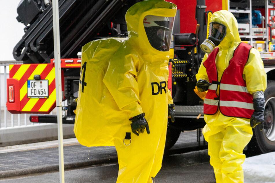 Der Austritt eines giftigen Gases sorgte am Donnerstag für einen Großeinsatz der Feuerwehr in Dreieich.