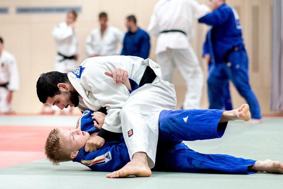 Kontaktsportarten in der Halle wie Judo sind in Brandenburg zurzeit untersagt.