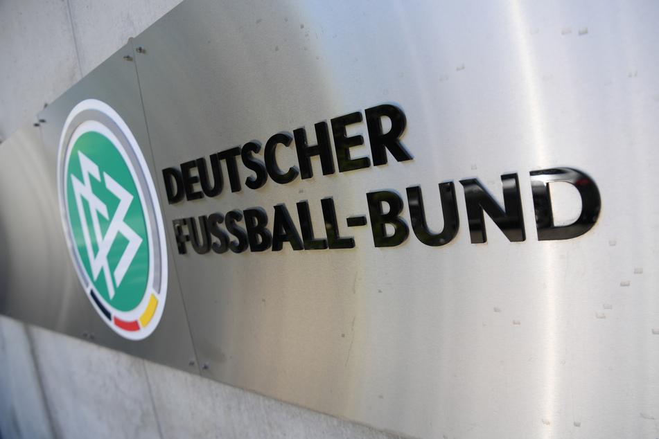 Das Logo des Deutschen Fußball-Bundes (DFB).