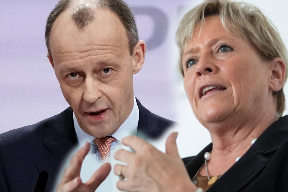 Nach Laschet-Wahl: Eisenmann will Merz-Beteiligung