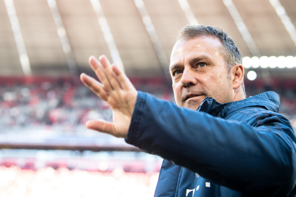 Trainer Hansi Flick (55) vom FC Bayern München.