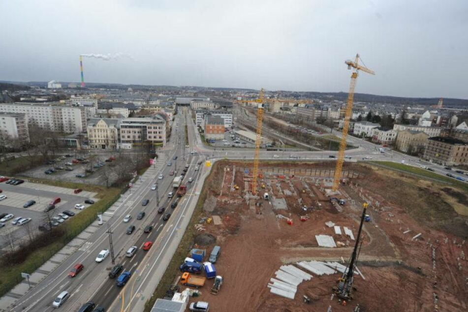 Vier Mega-Projekte! Chemnitz baut wie verrückt