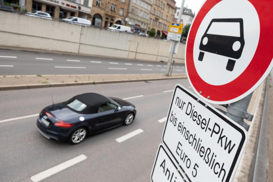 Euro-5-Diesel-Fahrverbote in Stuttgart ab morgen, aber nur theoretisch