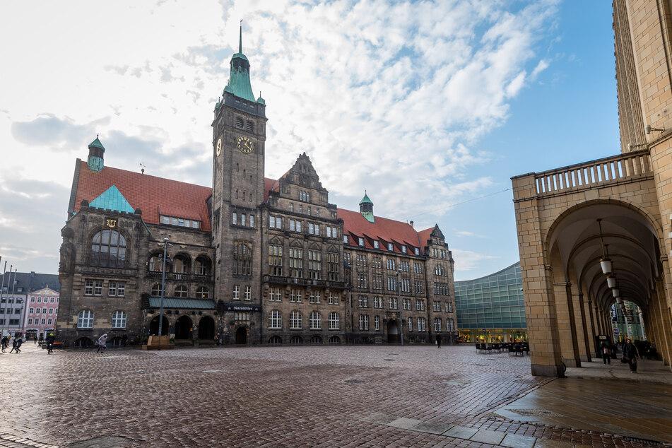 Ruhe im Rathaus - zwischen 19. März und 7. April gab es nur Notbetrieb.