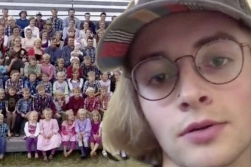 This teen has one dad, 27 moms, and 150 siblings!