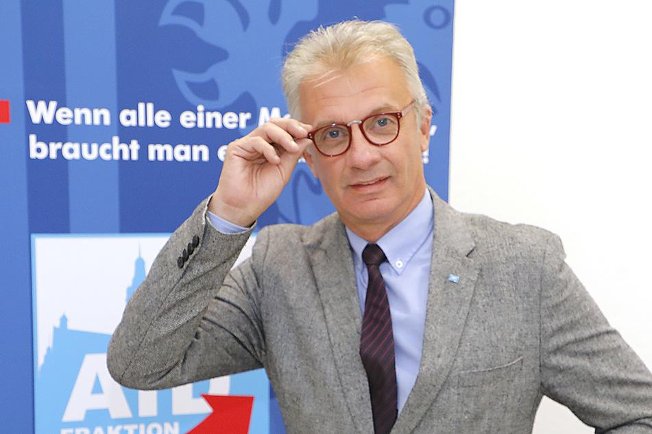 Steffen Wegert (63, AfD) forderte eine Überprüfung der Stasi-Vergangenheit von allen Stadträten.
