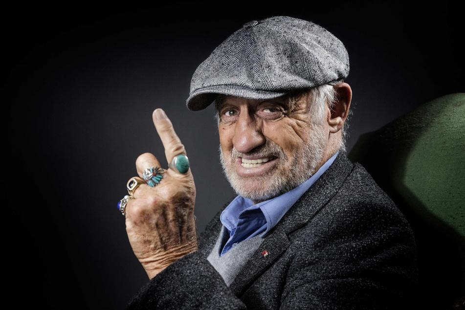 Jean-Paul Belmondo im Dezember 2016 im französischen Boulogne-Billancourt. (Archivbild)