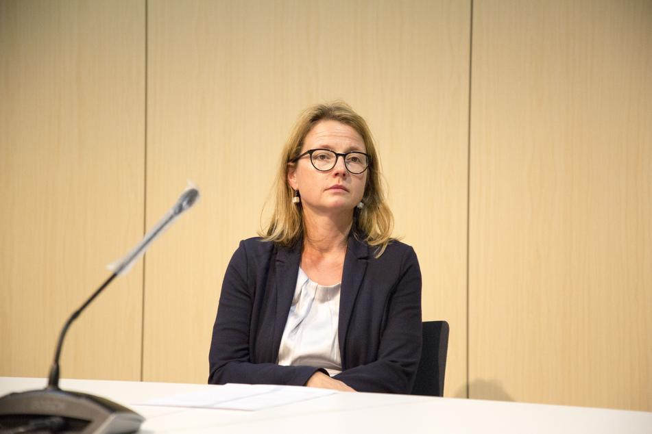 Annekatrin Klepsch (43, die Linke) muss ebenfalls in Quarantäne.