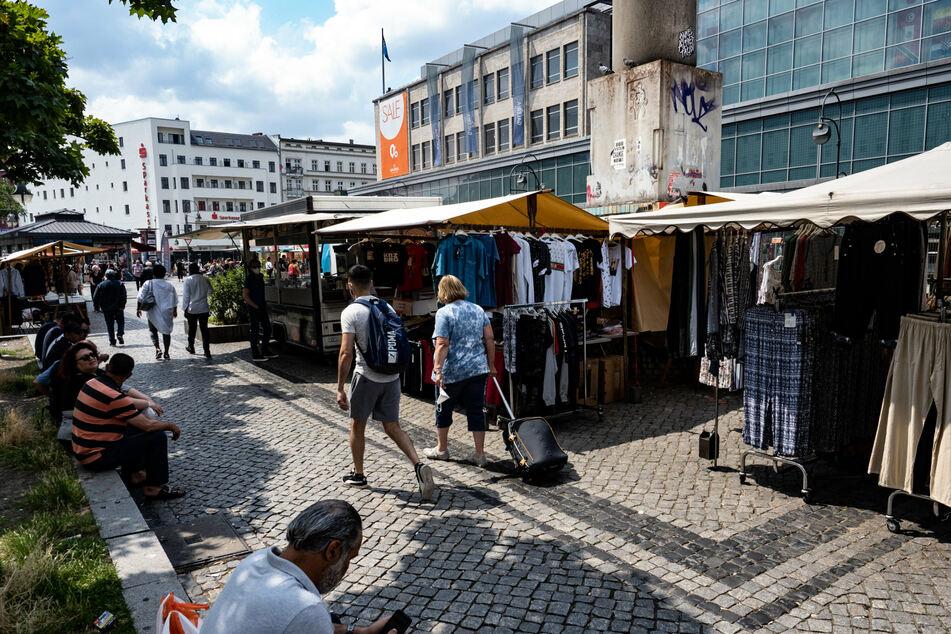 Weitere Aktionen auf dem Hermannplatz in Neukölln sind angedacht.
