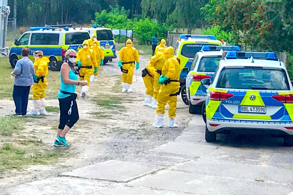 Corona-Ausbruch in Asylheim: Mann soll in Quarantäne und sorgt für Polizeieinsatz