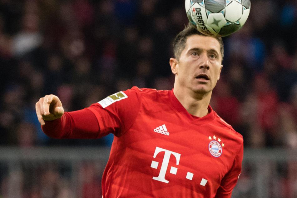 """Robert Lewandowski gilt wohl als großer Favorit bei der Wahl zu """"Europas Fußballer des Jahres""""."""