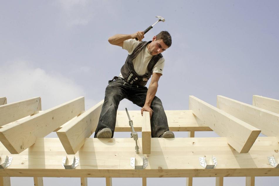 Bauprojekte gefährdet: Hausbauer und Holz-Gewerbe schlagen Alarm.
