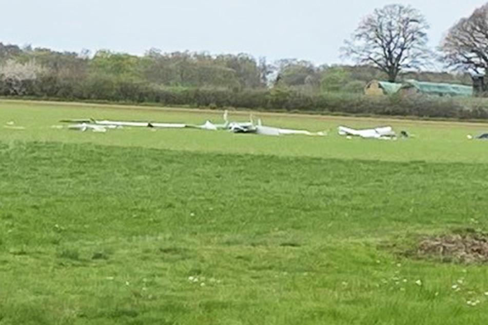 Segelflieger stürzt ab: Pilot (74) erliegt seinen Verletzungen