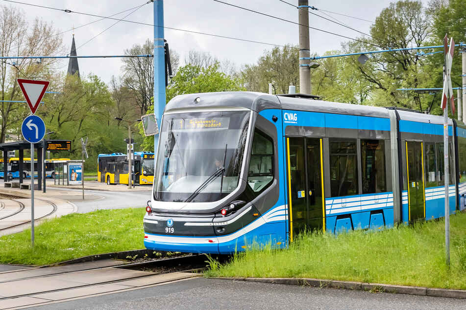 Noch endet die Tram-Linie 1 an der Wendestelle Schönau.