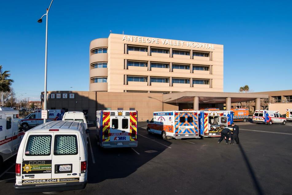 Antelope Valley Hospital in Lancaster, where one patient allegedly beat another patient to death.