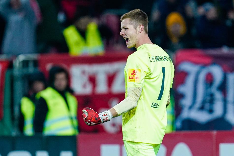 Neuzugang Lennart Grill (21) ist hinter Lucas Hradecky (30) die Nummer zwei im Leverkusener Tor.