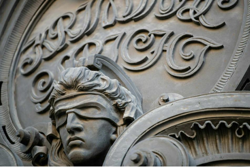 Der Eingang des Kriminalgerichts Moabit. (Archivbild)