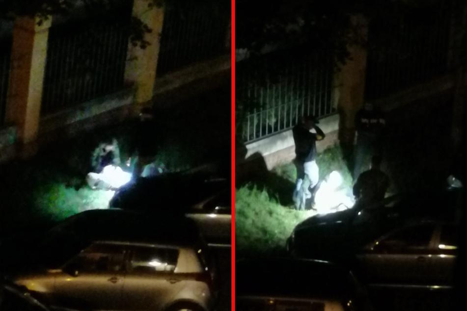 Die Polizei konnte beide Männer festnehmen.